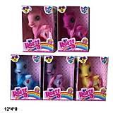 Лошадка-единорог с крыльями 5 цветов, ZR-212, игрушки