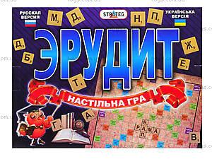 Настольная игра для детей «Эрудит», 051, фото