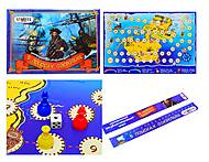 Настольная игра-бродилка «Пираты Карибского моря», 186, купить