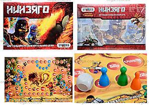 Настольная игра для детей «Ниндзя», 061
