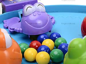 Настольная игра «Покорми лягушек», 707-35, детские игрушки