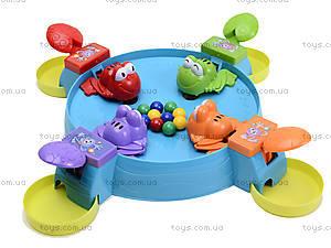 Настольная игра «Покорми лягушек», 707-35, магазин игрушек