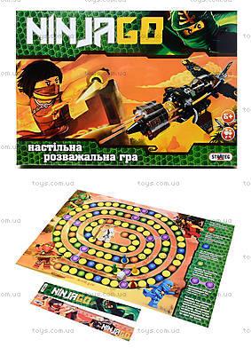 Настольная игра-бродилка «Ниндзя», 086