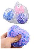 Мячик-антистресс 6 видов, M03824