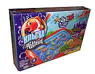 Игра большая 2 в 1 «Клевая рыбалка + KidSand», KRKS-01-01U, детские игрушки