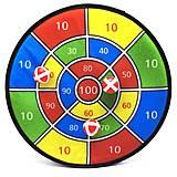 Игра детская комнатная «Дартс на липучке», 983, іграшки