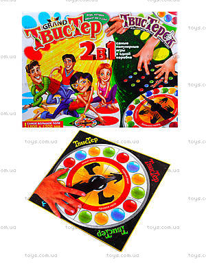 Игра для детей «Твистер» 2 в 1,