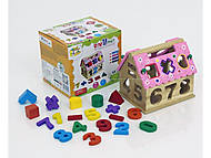 Игра «Дом - Логика» в коробке, 0399