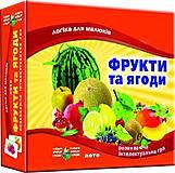 Игра «Фрукты и ягоды» детское лото, 83033, цена