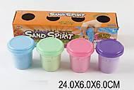 Игра «Живой песок», 4 цвета, JL11002P, фото