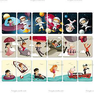 Игра карточная «Счастливые семейки», 7 карточек, J02977, фото
