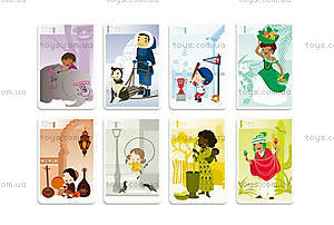 Игра карточная «Семейная география», 7 карточек, J02937, купить