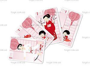 Игра карточная «Семейная география», 7 карточек, J02937, фото