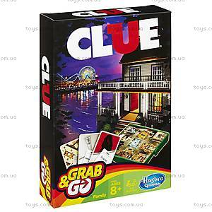 Настольная игра «Клуэдо. Дорожная версия», B0999