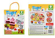 Игра магнитная «Торт» русский язык, VT3004-0107, детские игрушки