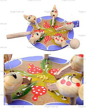 Игра манипулятор «Курочки клюют пшено», 150-01-06
