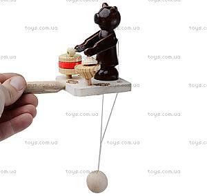 Игра манипулятор «Мишка-барабанщик», 150-01-07, фото