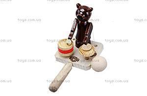 Игра манипулятор «Мишка-барабанщик», 150-01-07, отзывы