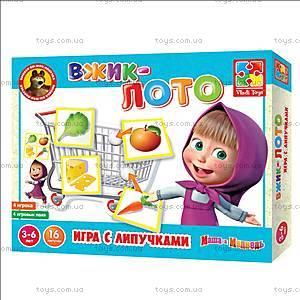 Игра на липучках «Вжик Лото», VT2305-01, игрушки