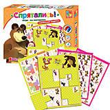 Игра на магнитах Маша и медведь «Спрятались», VT3304-09, детский