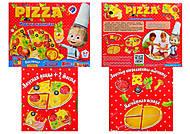 Детская игра на магнитах «Пицца», VT3003-02, игрушки