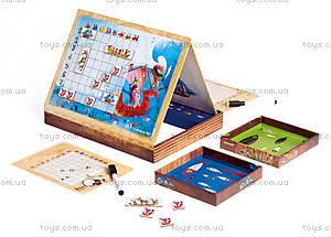 Игра настольная «Морской бой», 20 кораблей, J02835, детские игрушки