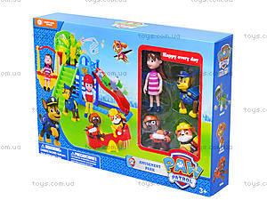 Парк развлечений с фигурками «Щенячий патруль», XZ-331A, детские игрушки