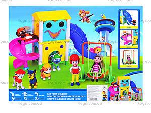 Игровой набор «Парк развлечений» серии «Щенячий патруль», XZ-332, детские игрушки