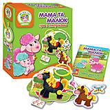 Игра с липучками «Мама и малыш: Ферма», VT1310-04