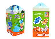 Игра с липучками «Беги, слоник», VT1312-02, купить игрушку