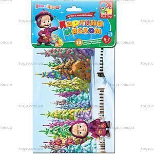 Игра с мягкими наклейками «Картина маслом», VT4206-13, детские игрушки