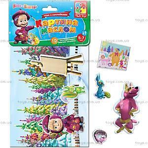 Игра с мягкими наклейками «Картина маслом», VT4206-13