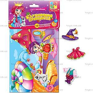 Игра с мягкими наклейками «Клубничная принцесса», VT4206-15, игрушки