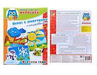 Игра-шнуровка развивающая «Времена года», VT1307-01, детские игрушки