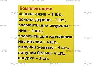Игра-шнуровка развивающая «Ёжик», VT1307-03, купить