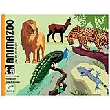 Карточная игра Djeco «Зоопарк», DJ05188