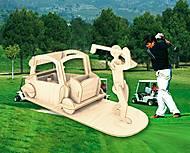 Конструктор деревянный «Игрок в гольф», С008, детские игрушки