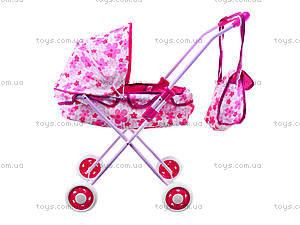 Игровая коляска для куклы, 8826B, фото