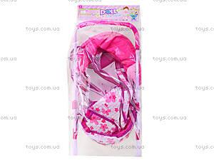 Игровая коляска для куклы, 8826B, цена