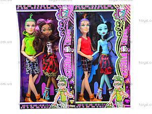 Игровая кукла для детей Monster Girl, 303A, фото