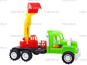 Игровая машина «Экскаватор», 15-002-1, игрушки