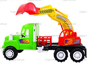 Игровая машина «Экскаватор», 15-002-1, детские игрушки