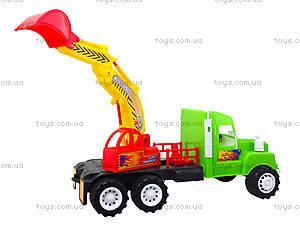 Игровая машина «Экскаватор», 15-002-1, магазин игрушек