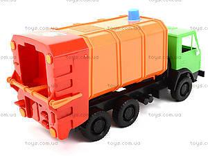 Игровая машина «Мусоровоз», 405, детские игрушки
