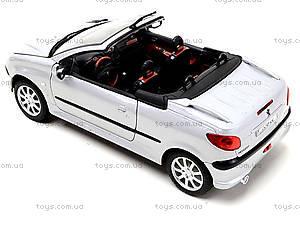 Игровая моделька Peugeot , 22413W, фото