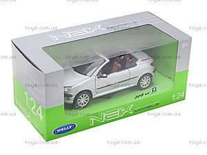 Игровая моделька Peugeot , 22413W, магазин игрушек