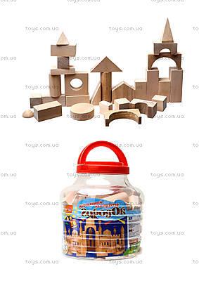 Игровой деревянный конструктор «Городок» , 8051