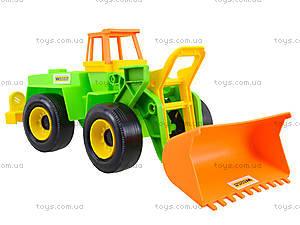 Игровой экскаватор с набором для песка, 39158, детские игрушки