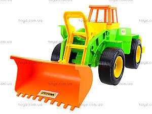 Игровой экскаватор с набором для песка, 39158, toys.com.ua