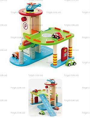 Игровой «Гараж» для машинок с вертолетной площадкой, 59963VG